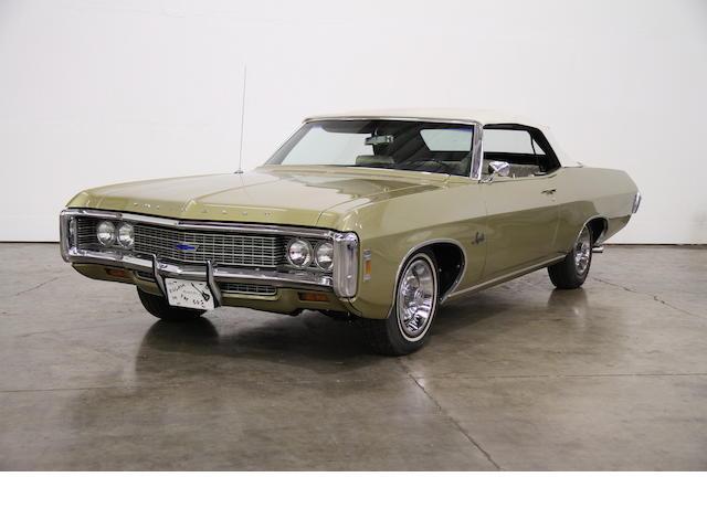 1969 Chevrolet Impala Convertible  Chassis no. 164679C039314