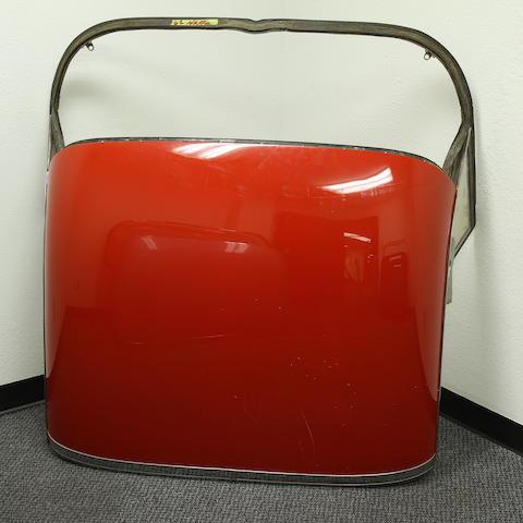 A 1961-62 Chevrolet Corvette hardtop shell,