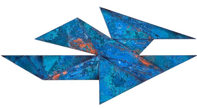 Laddie John Dill (American, born 1943) Untitled, 2009 irregular 71 3/4 x 36in
