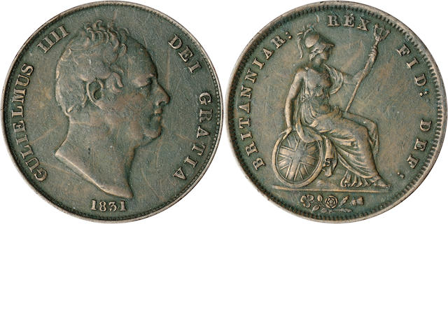 Great Britain, William IV 1831 Penny