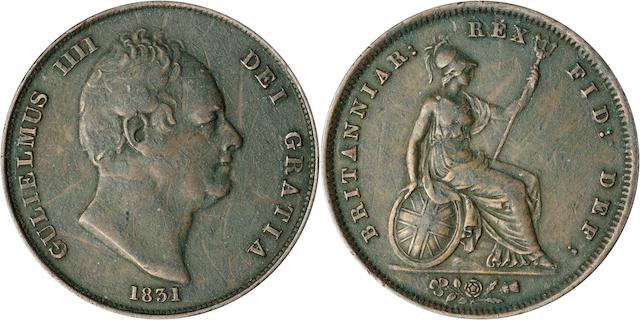 Great Britain, William IV 1831 Penny