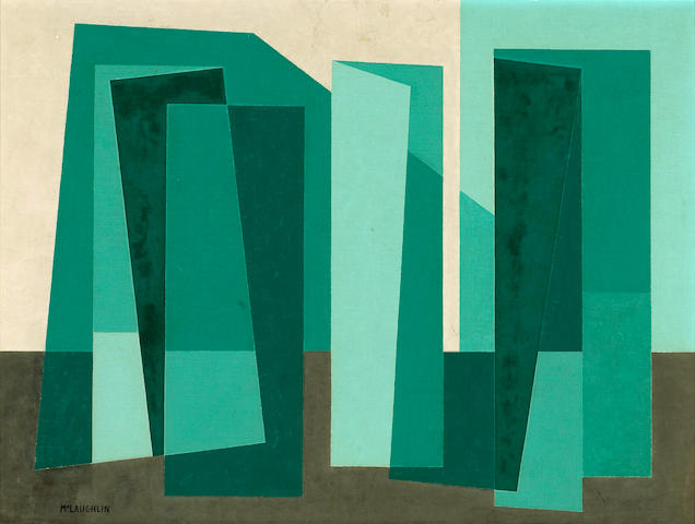 John McLaughlin (American, 1898-1976) Untitled, c. 1947 18 x 24in