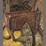 Morris Graves (American, 1910-2001) Wheelbarrow, c. 1935-36 34 x 30in