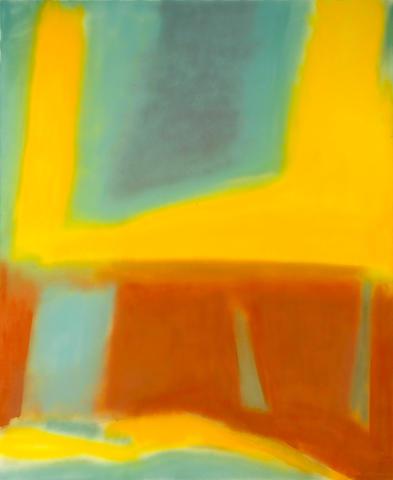 Esteban Vicente (American, 1903-2001) Untitled, 1983 68 x 56in