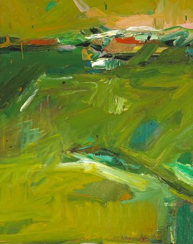 Dennis Hare (American, born 1946) Untitled (Landscape), 1987 19 1/2 x 15 1/2in