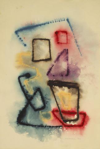 Edward Kienholz (American, 1927-1994) Untitled, 1956 20 x 14in
