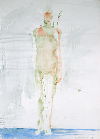 Manuel Neri (American, born 1930) Mary Julia Standing No. 5, 1971 40 3/4 x 29 1/2in