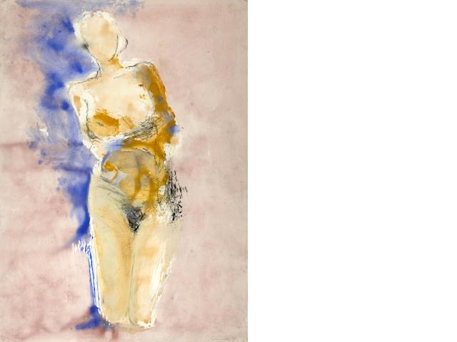 Manuel Neri (American, born 1930) M.J./Parra Series No. 2, 1996 66 x 45in