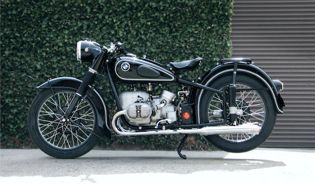 1953 BMW R51/3 Frame no. 524826 Engine no. 524826
