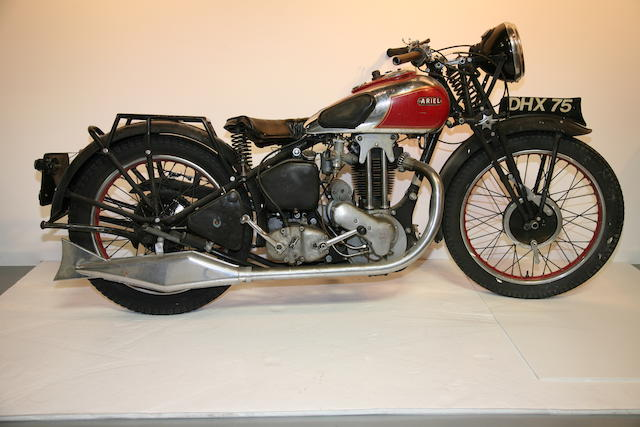 1935 Ariel Red Hunter Frame no. Y8953 Engine no. 1581