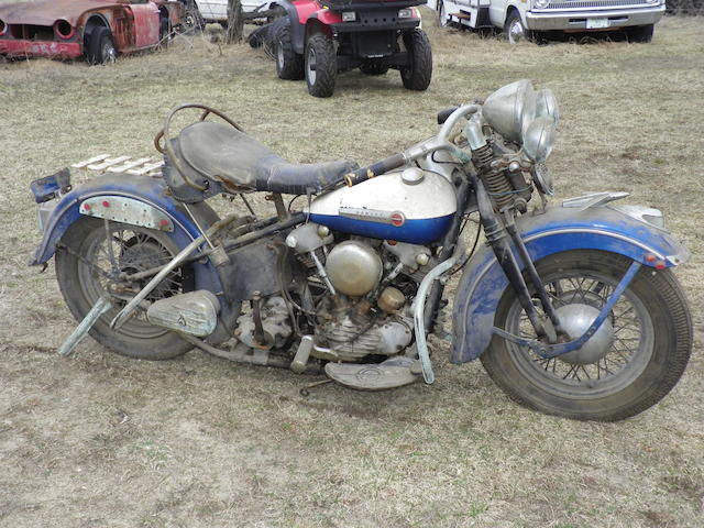 1947 Harley-Davidson Knucklehead Engine no. 47E65969