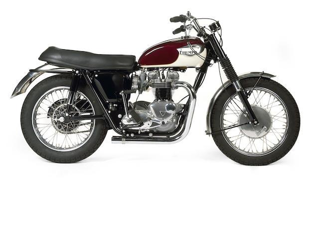 1967 Triumph TT Special Frame no. T120TT DU54226 Engine no. T120TT DU54226
