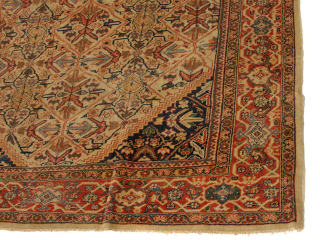 A Mahal carpet Size approximately 8ft. 4in. x 10ft. 7in.