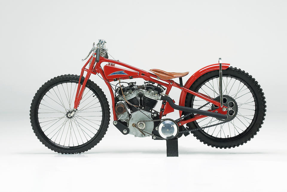 1933 Indian-Crocker 45ci OHV Speedway Racing Motorcycle  Engine no. GB OHV 00