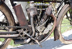 1911 Indian 7hp Big Twin Frame no. 71C884 Engine no. 71C884