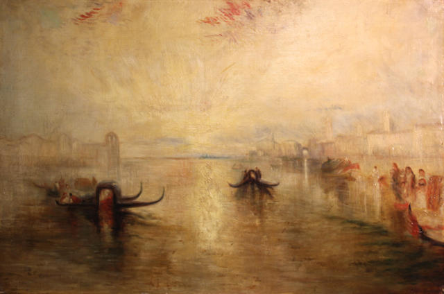 JMW Turner (copy), Venice, o/c