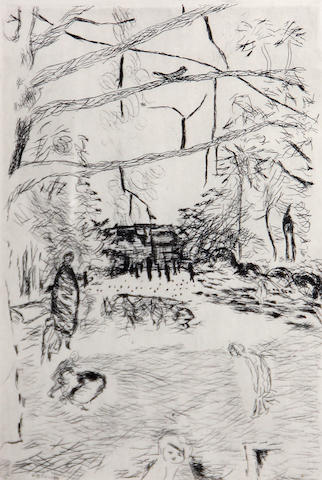 Pierre Bonnard (French, 1867-1947); La Parc Monceau;