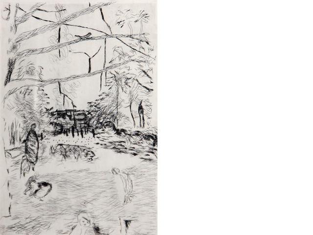 Pierre Bonnard, print;
