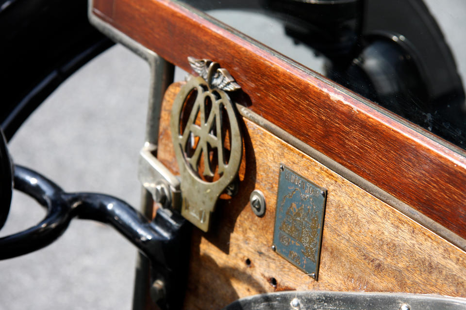 In the present family ownership since 1953,1907 Wolseley-Siddeley 10hp 'B' Type Four Seater Tourer