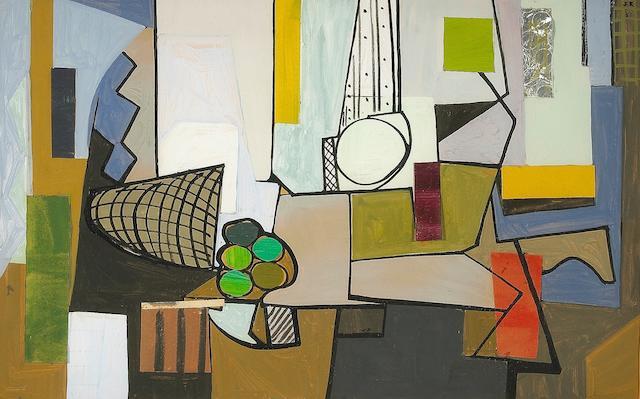 Judith Rothschild (American, 1921-1993) Still Life, 1951 11 x 14in