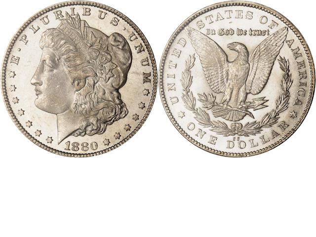 1880-CC $1 MS66 PCGS