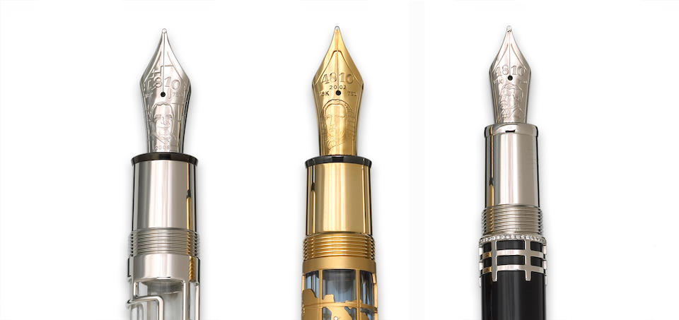 MONTBLANC: Georges Pompidou Limited Edition Fountain Pen