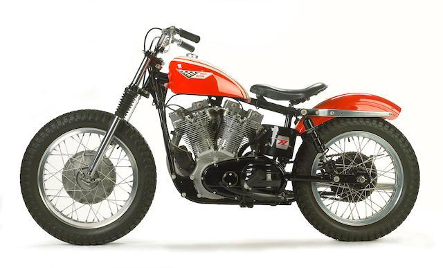 Factory outlaw racebike, less than 500 built,1964 Harley-Davidson XLR-TT
