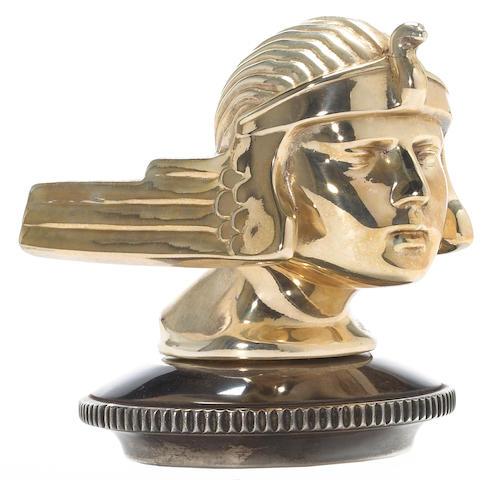 A good Stutz mascot, 1930s,