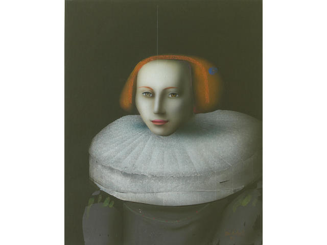 Paul Wunderlich (German, 1927-2010) Nach Rembrandt, 1994 31 5/8 x 25 3/4in unframed