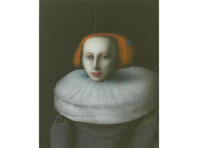 (n/a) Paul Wunderlich (German, 1927-2010) Nach Rembrandt, 1994 31 5/8 x 25 3/4in unframed