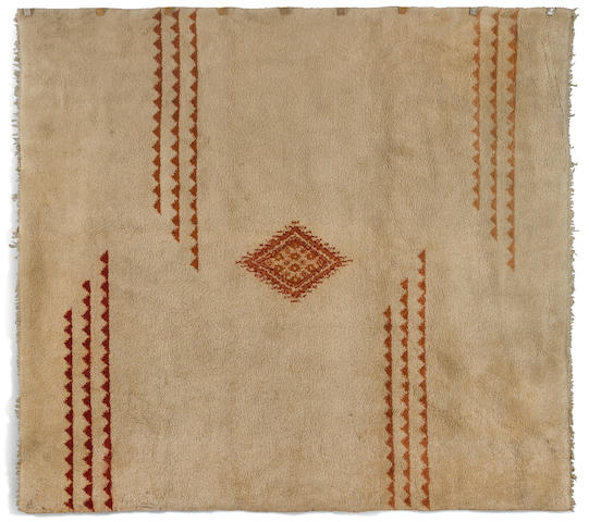 A French Art Deco wool carpet in the style of Ivan da Silva Bruhns, circa 1930