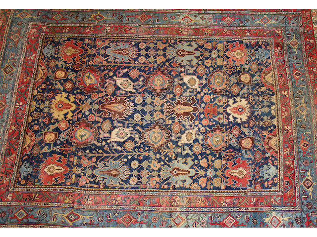 A Bidjar carpet size approximately 9ft. 2in. x 11ft. 10in.