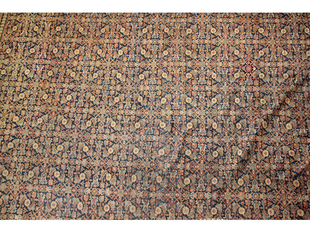 A Fereghan carpet size approximately 14ft. 4in. x 21ft. 5in.