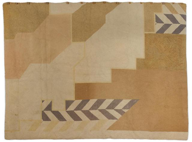 A Karel Maes wool carpet circa 1930
