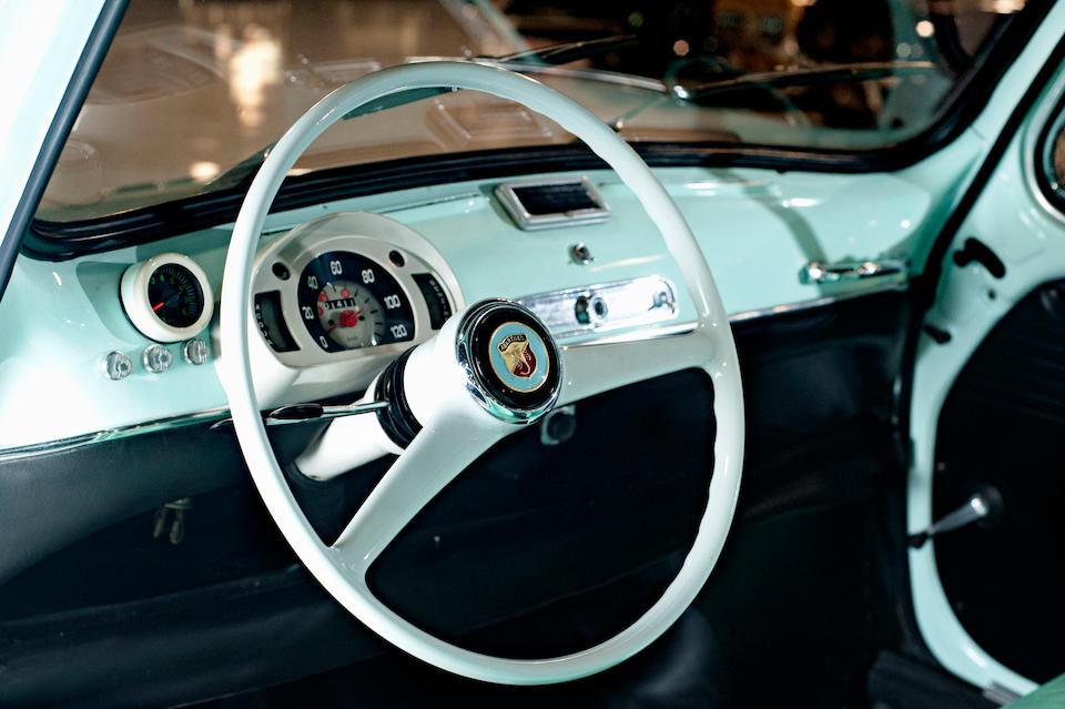 1963 Fiat 750 Abarth Berlina  Chassis no. 1537289 Engine no. 1687224