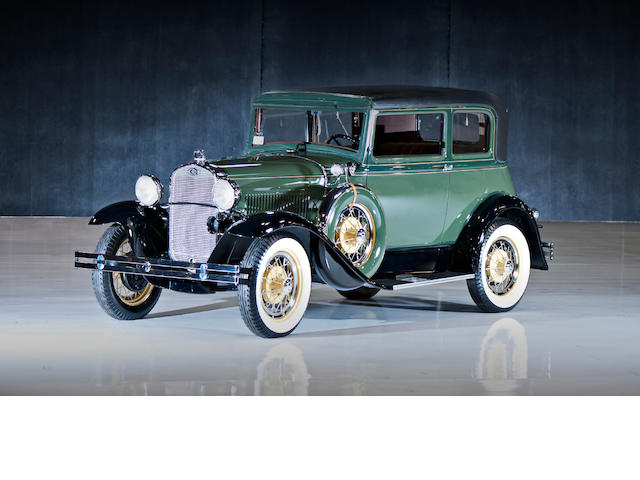 1931 Ford Model A Victoria  Chassis no. 190A16817