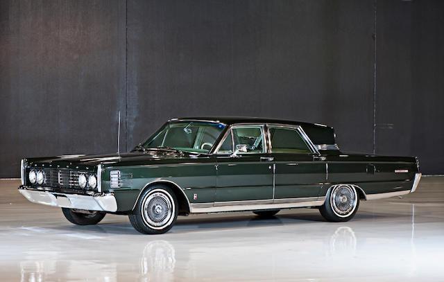 1965 Mercury Parklane  Chassis no. 5Z62Z588075