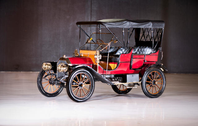 1909 CarterCar Model H Touring  Chassis no. 1199