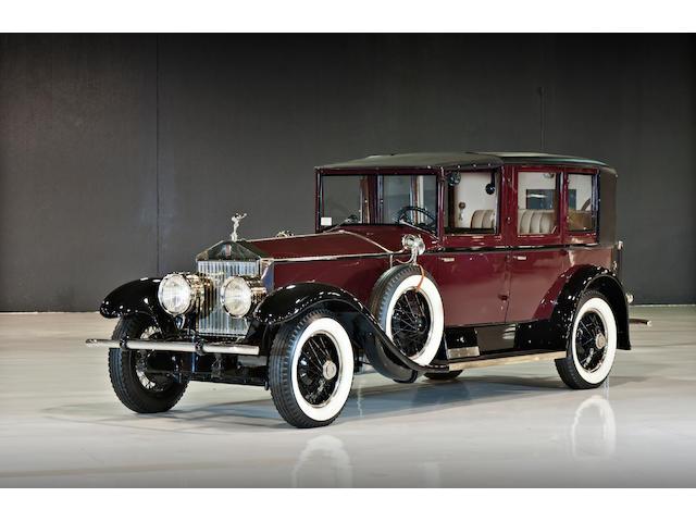 1927 Rolls-Royce Phantom I Towncar  Chassis no. S154PM