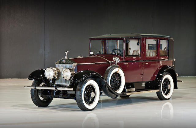 1927 Rolls-Royce Phantom I Towncar  Chassis no. S154PM
