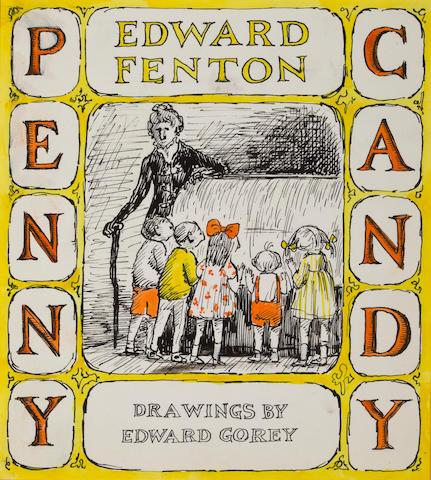 """(n/a) Edward Gorey (American, 1929-2000) """"Penny Candy,"""""""