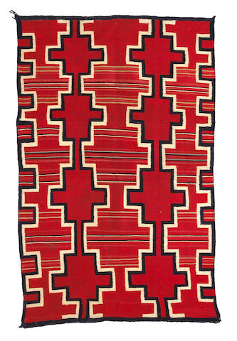 A Navajo late classic child's blanket