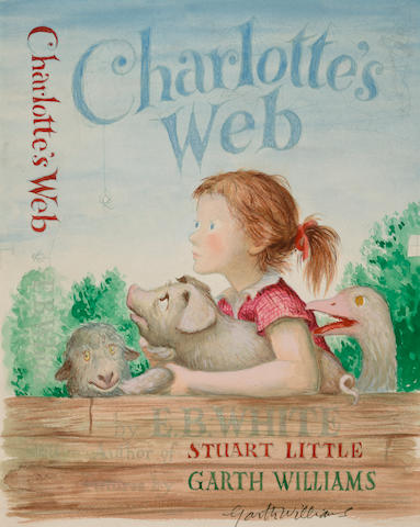 "Garth Williams (American, 1912-1996) ""Charlotte's Web,"""