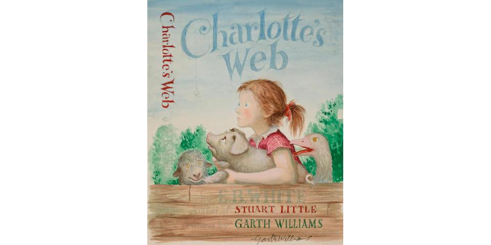"Garth Williams (American, 1912-1996) ""Charlotte's Web,"""