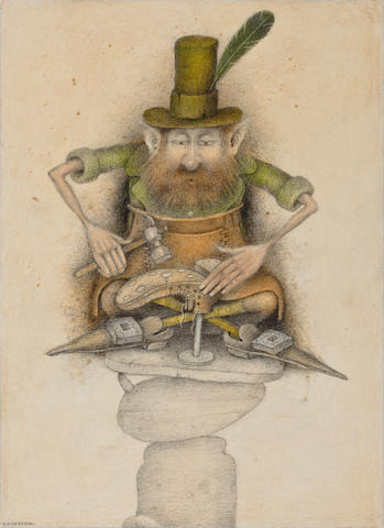 Anderson, Wayne. Leprechann cobbler.