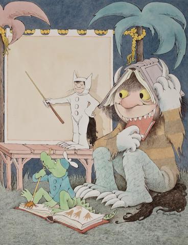 Sendak IBBY artwork, 1990