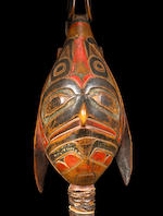 A Tlingit raven rattle