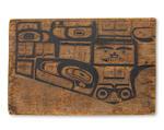 A Tlingit pattern board