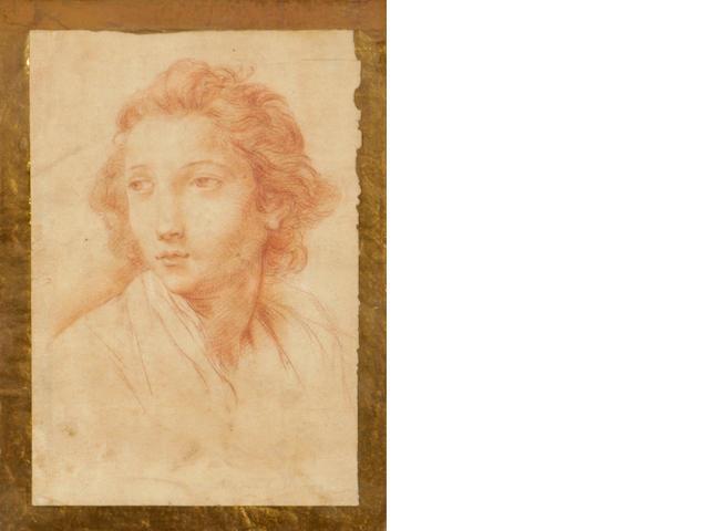 Pompeo Girolamo Batoni (Italian, 1708-1787) A portrait of a youth