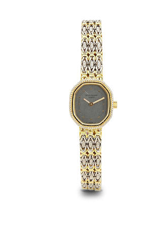 Patek Philippe. A fine 18K two color gold lady's bracelet watch.Ref: 4569 / 1, Case no. 2799433, Movement no. 1405462